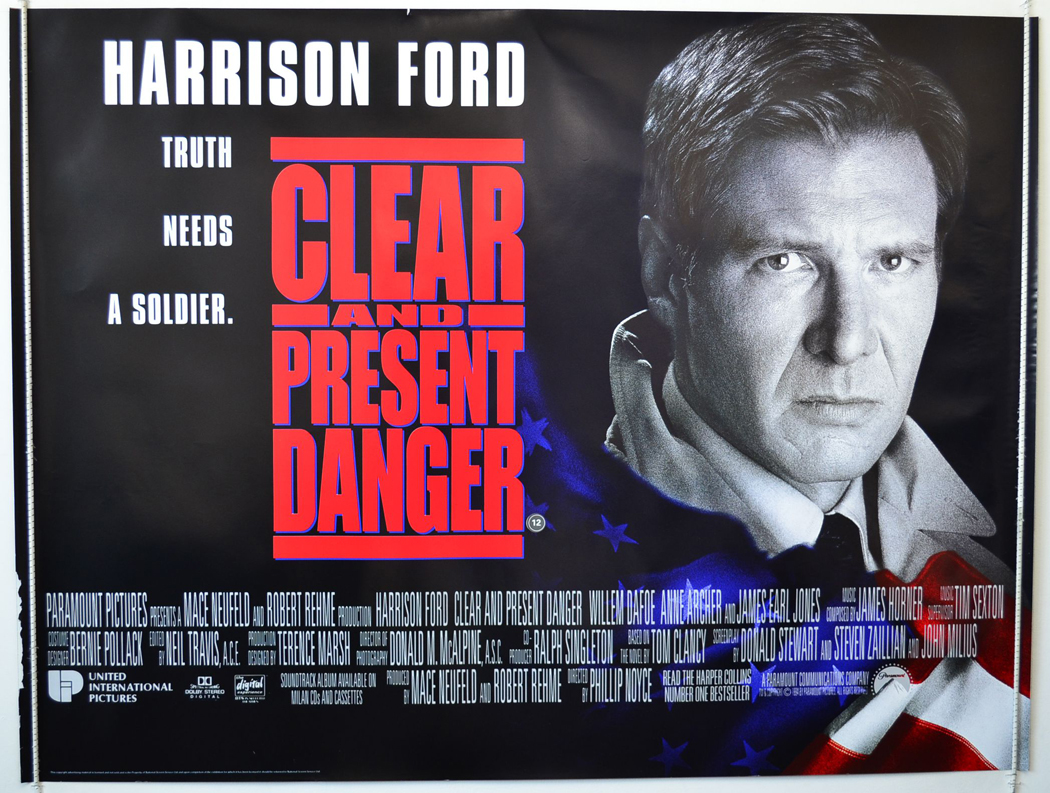 Clear And Present Danger Wallpapers Movie Hq Clear And Present Danger Pictures 4k Wallpapers 2019