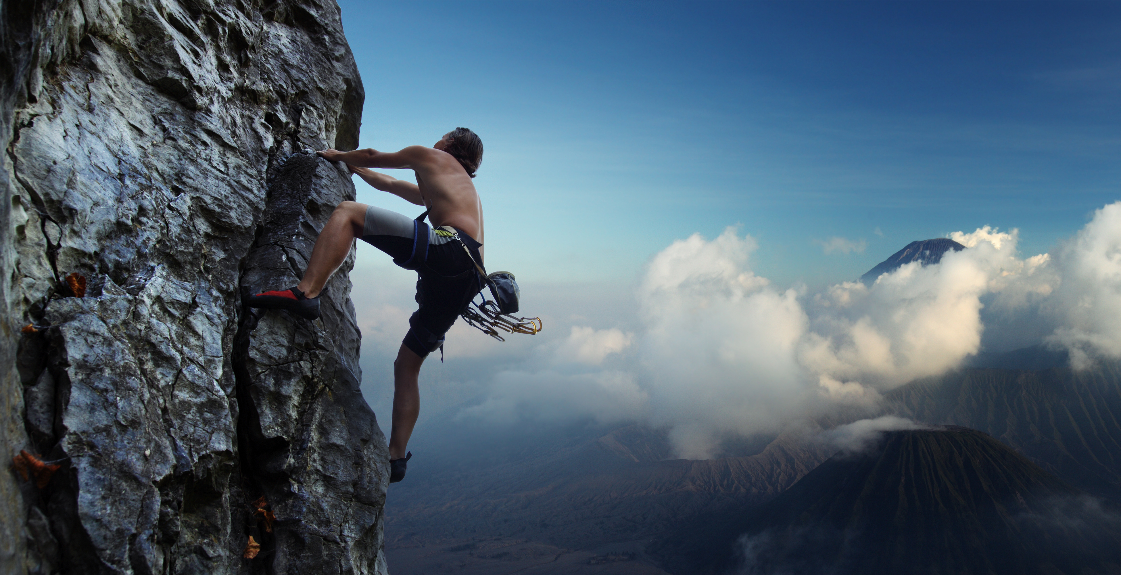 Nice Images Collection: Climbing Desktop Wallpapers