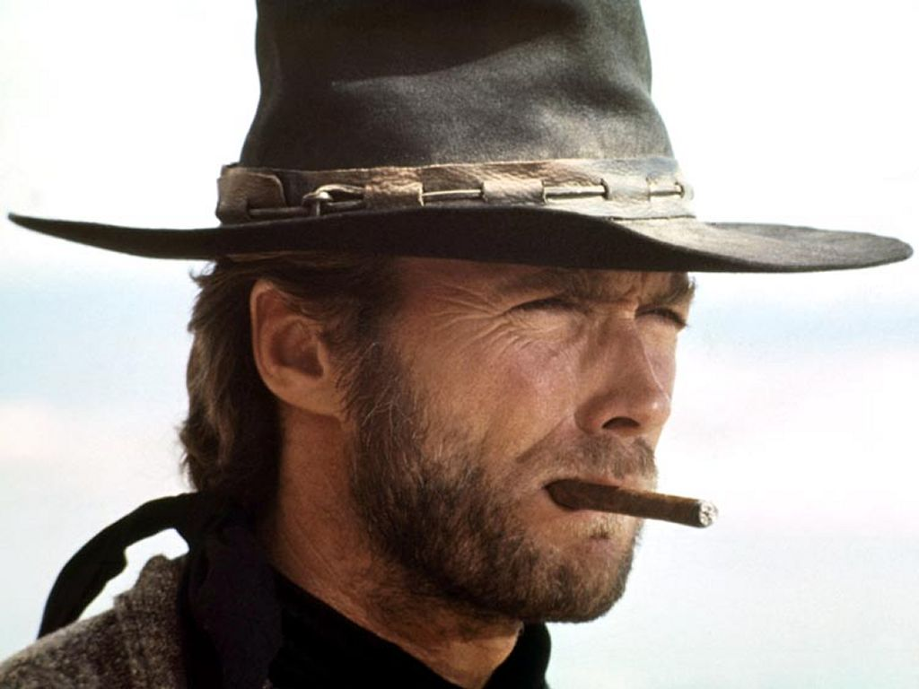 HD Quality Wallpaper | Collection: Celebrity, 1024x768 Clint Eastwood