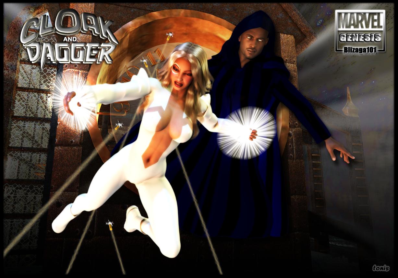 Cloak Dagger Wallpapers Comics Hq Cloak Dagger Pictures 4k