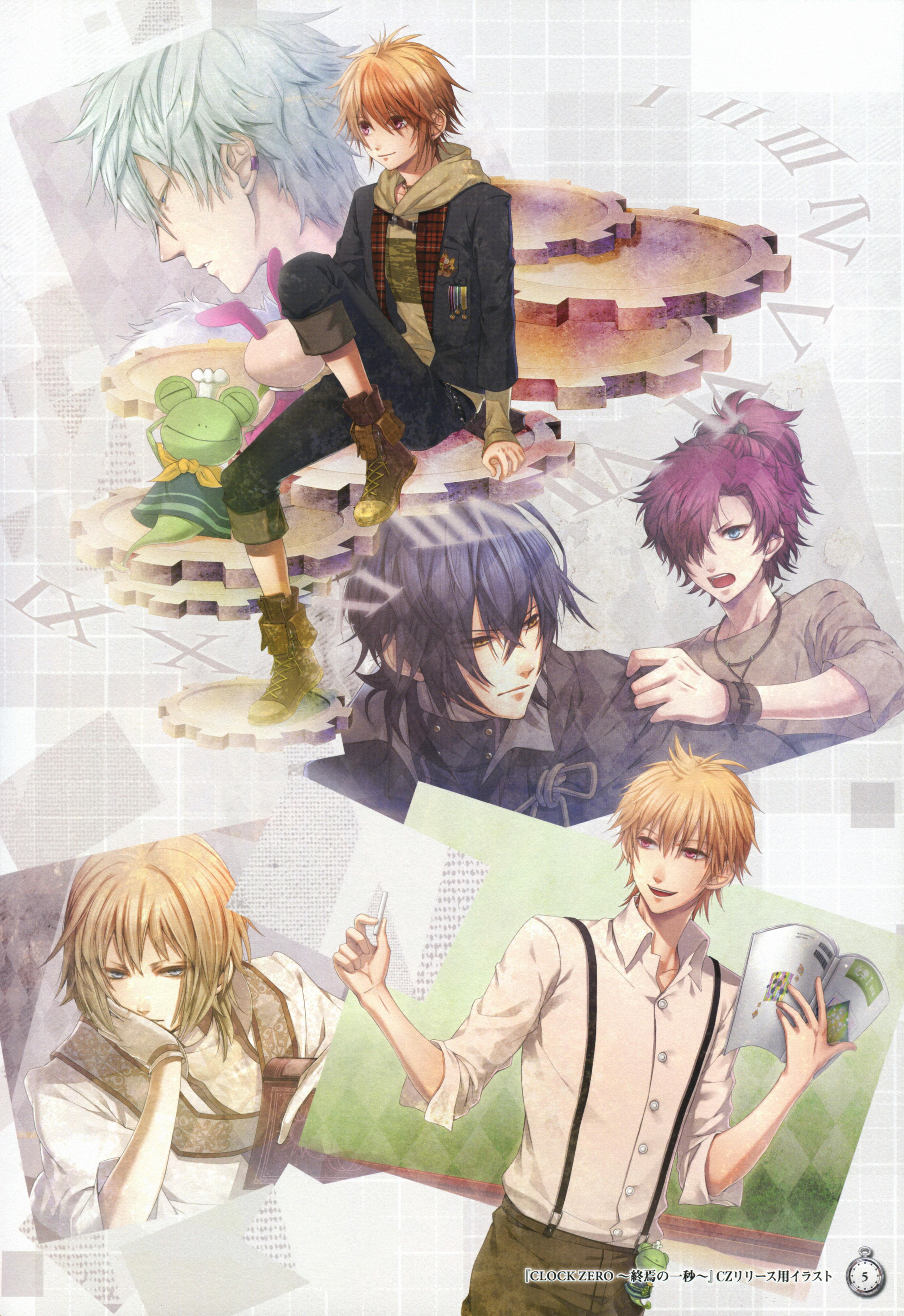 Clock Zero Pics, Anime Collection