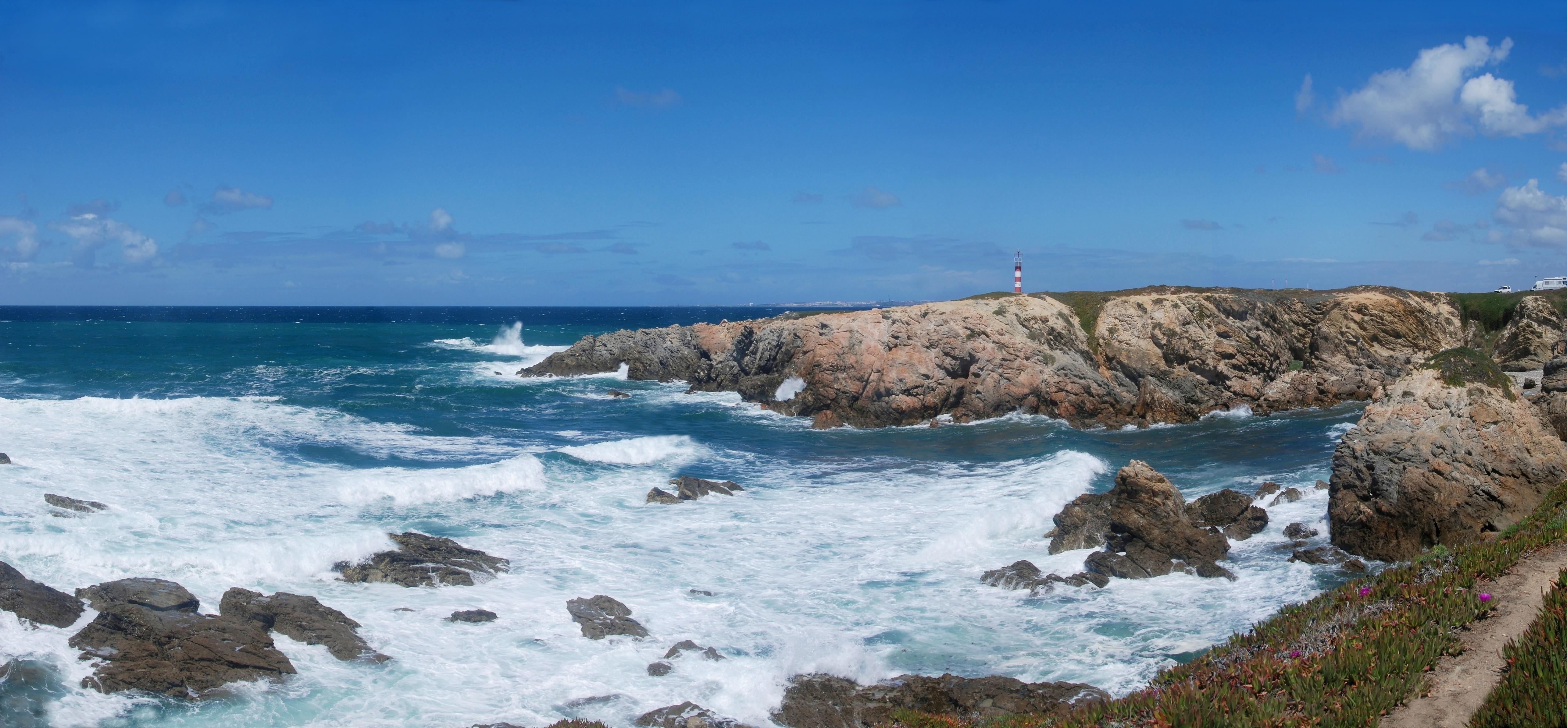 Coastline Backgrounds, Compatible - PC, Mobile, Gadgets| 5140x2390 px