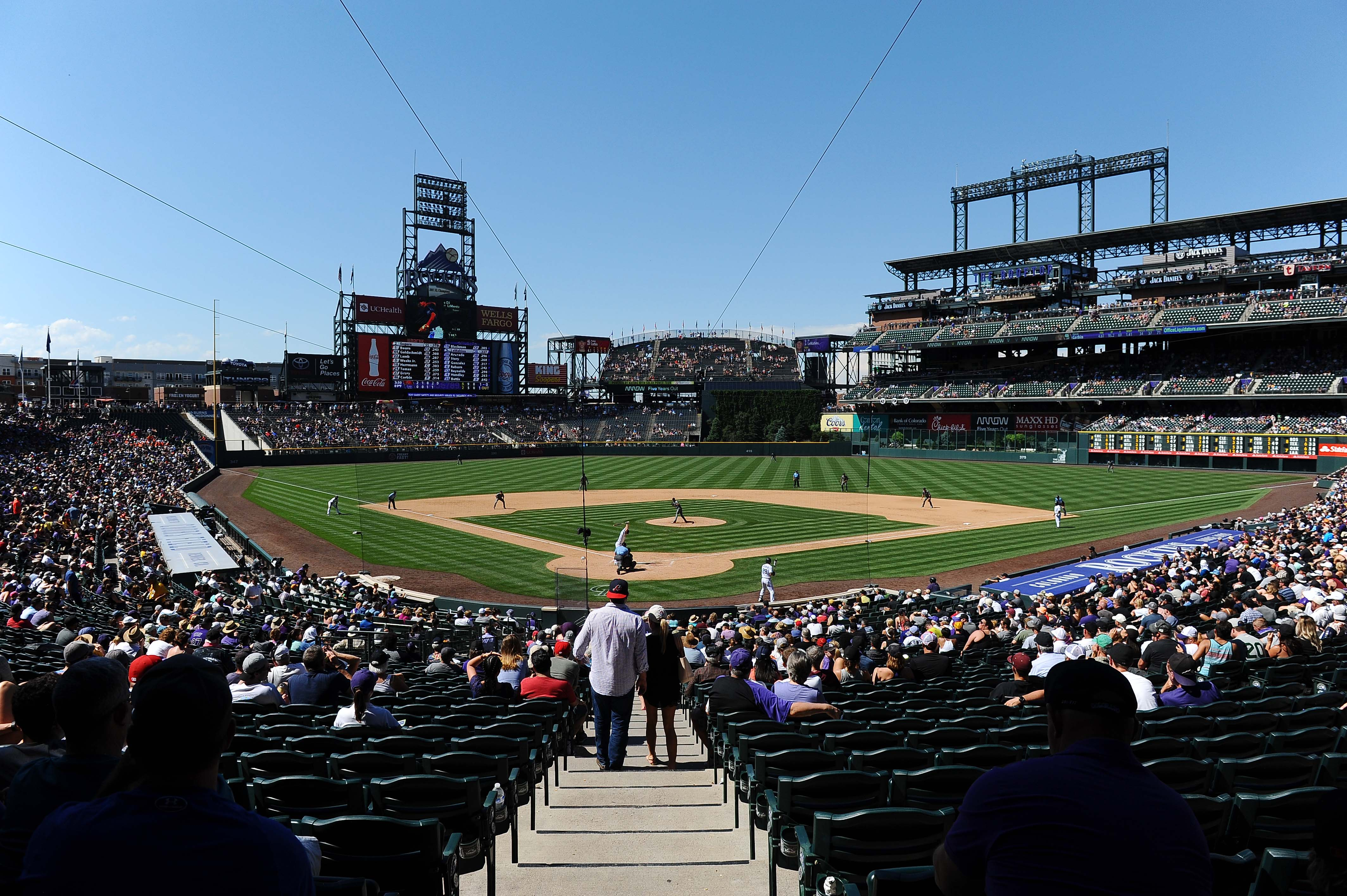 HD Quality Wallpaper | Collection: Sports, 4256x2832 Colorado Rockies