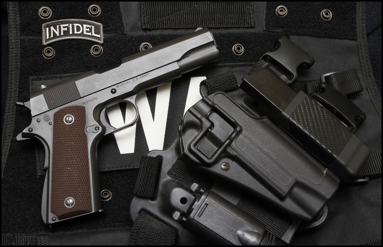 Colt Government Pistol Backgrounds on Wallpapers Vista