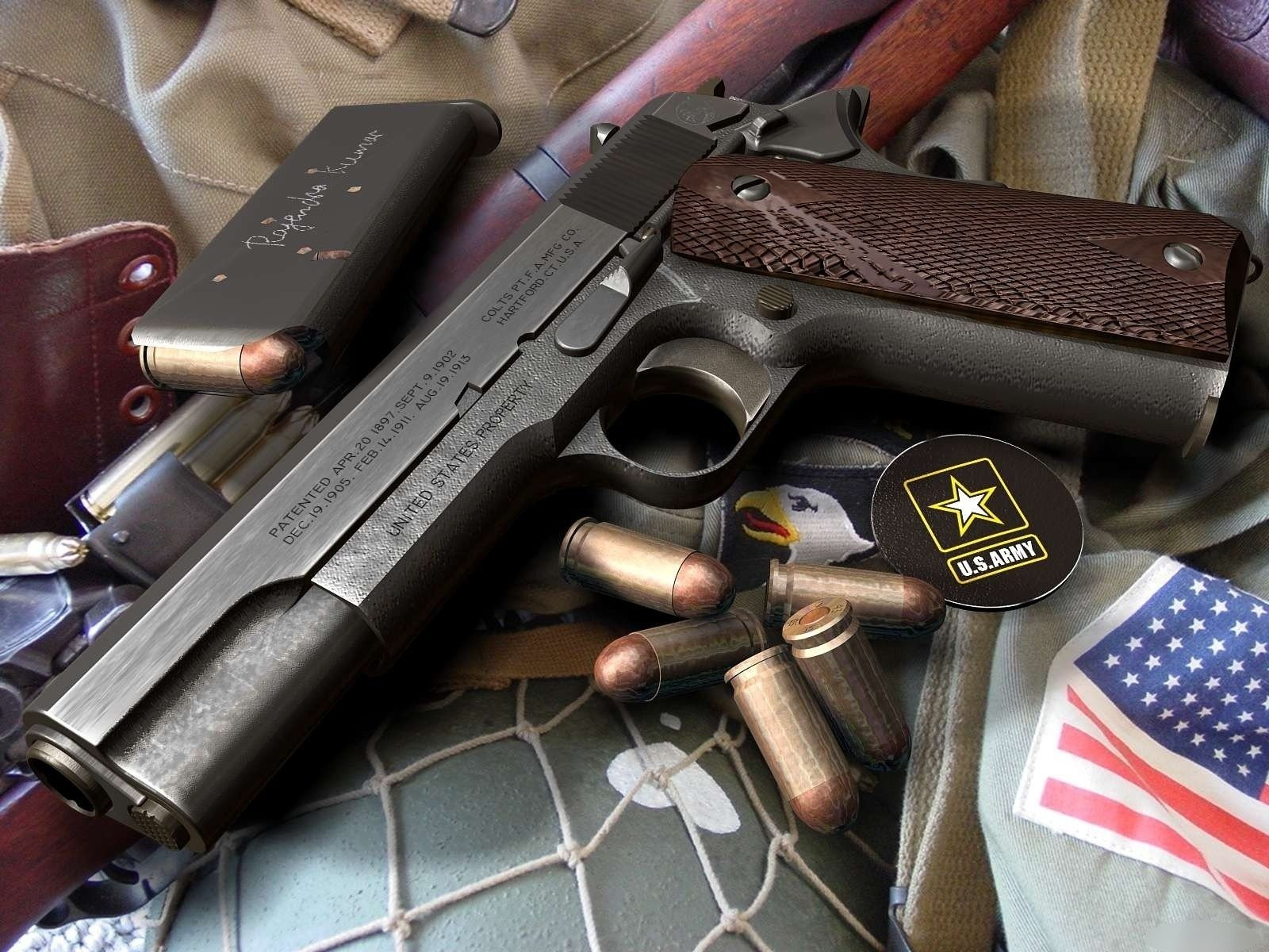 High Resolution Wallpaper | Colt M1911 1600x1200 px