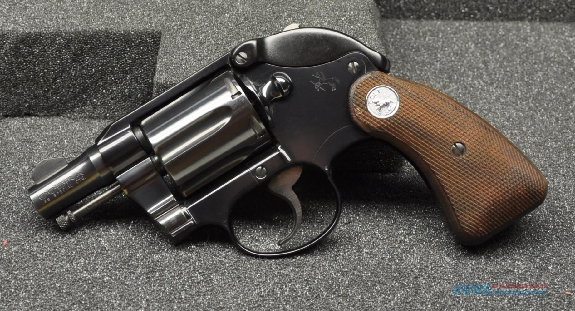 HD Quality Wallpaper | Collection: Weapons, 1842x996 Colt Cobra 38 Special Revolver
