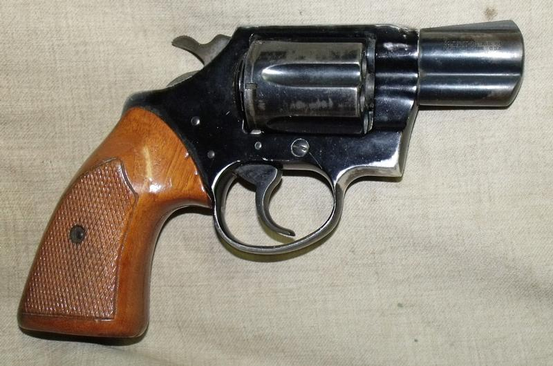 Colt Cobra 38 Special Revolver Pics, Weapons Collection