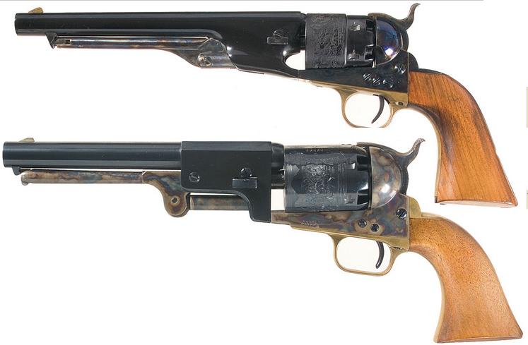 Colt Dragoon Revolver Backgrounds, Compatible - PC, Mobile, Gadgets| 747x489 px