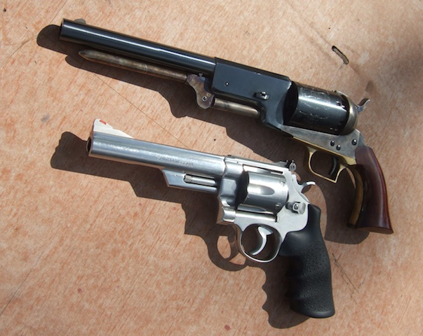 Nice Images Collection: Colt Dragoon Revolver Desktop Wallpapers