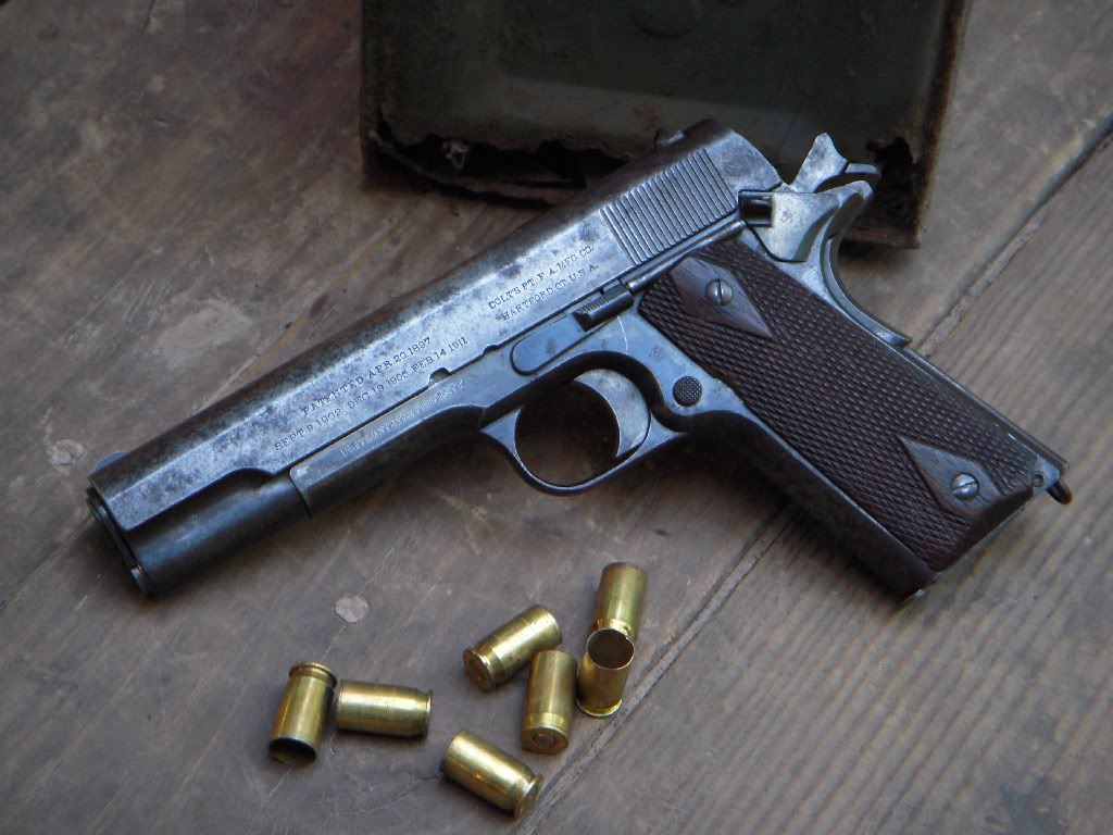 Colt M1911 High Quality Background on Wallpapers Vista