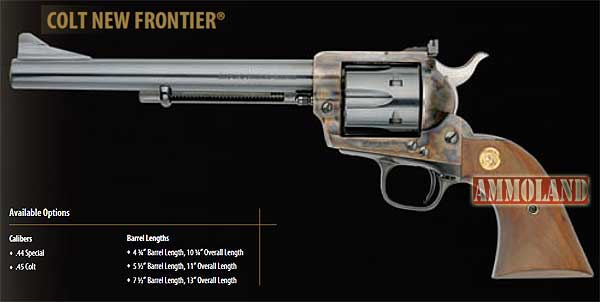 Images of Colt New Frontier Revolver | 600x302