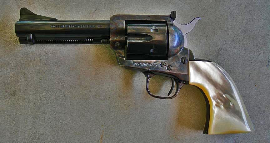 Nice Images Collection: Colt New Frontier Revolver Desktop Wallpapers