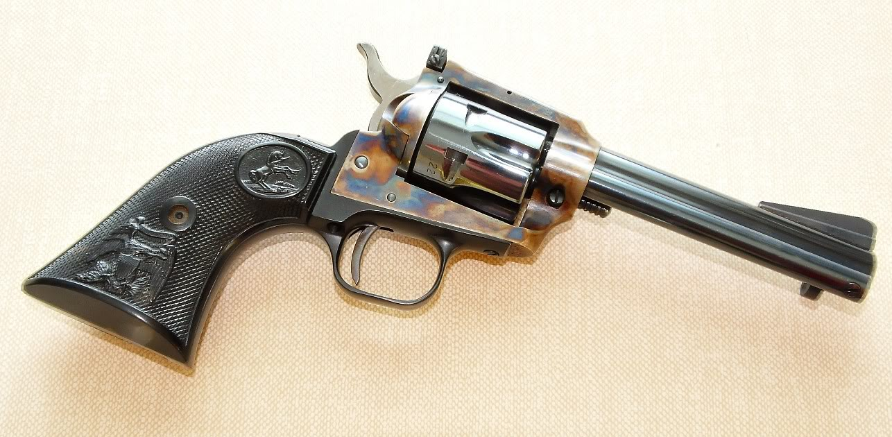 HQ Colt New Frontier Revolver Wallpapers | File 163.58Kb