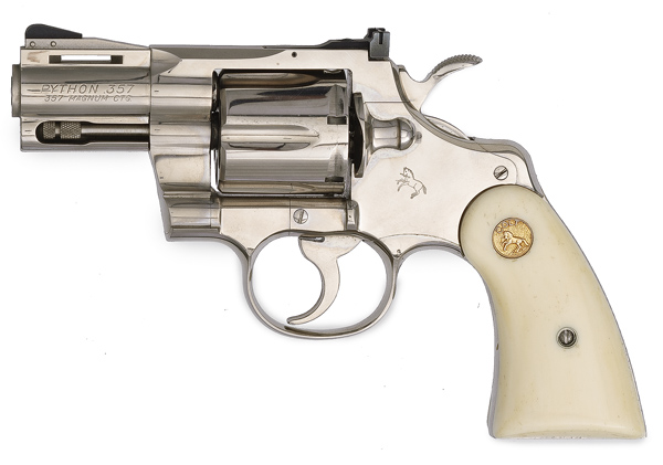 Images of Colt Python Revolver   600x421