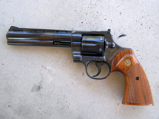 Colt Python Revolver Pics, Weapons Collection