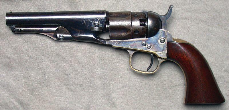 High Resolution Wallpaper | Colt Revolver 800x386 px