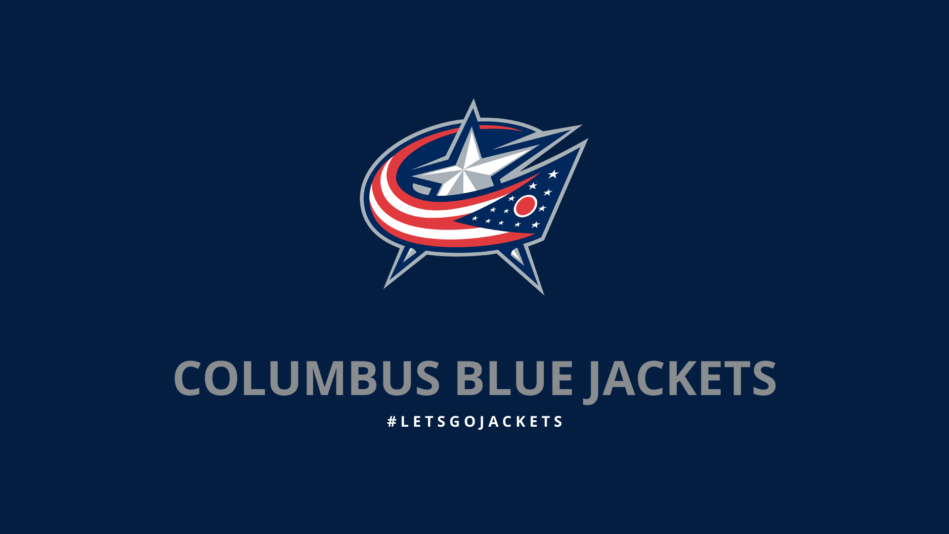 Nice Images Collection: Columbus Blue Jackets Desktop Wallpapers