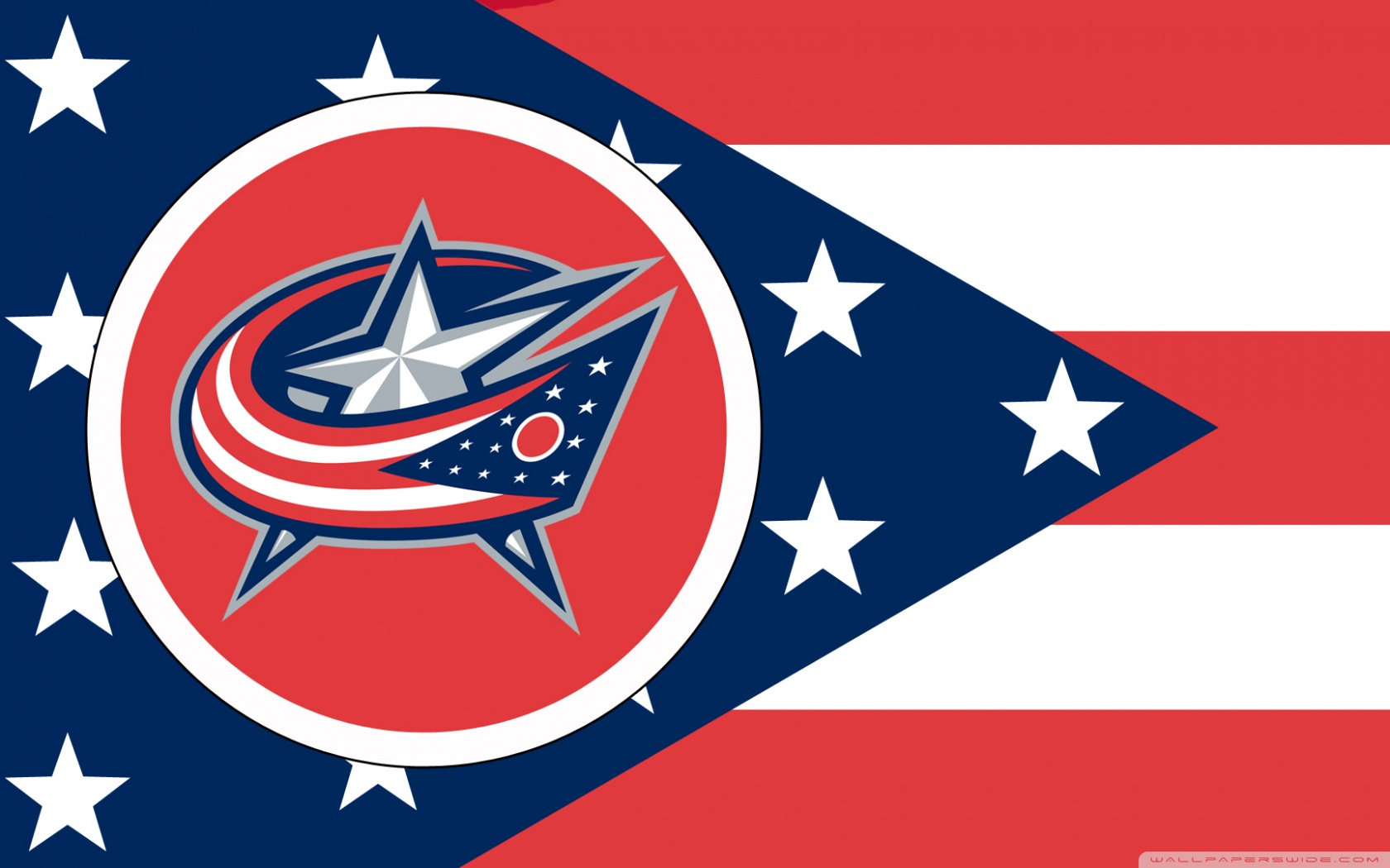 HD Quality Wallpaper | Collection: Sports, 1680x1050 Columbus Blue Jackets