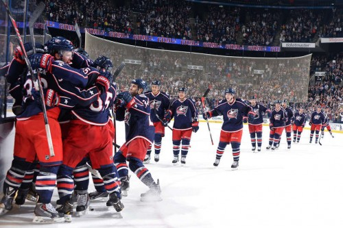 HD Quality Wallpaper | Collection: Sports, 500x333 Columbus Blue Jackets