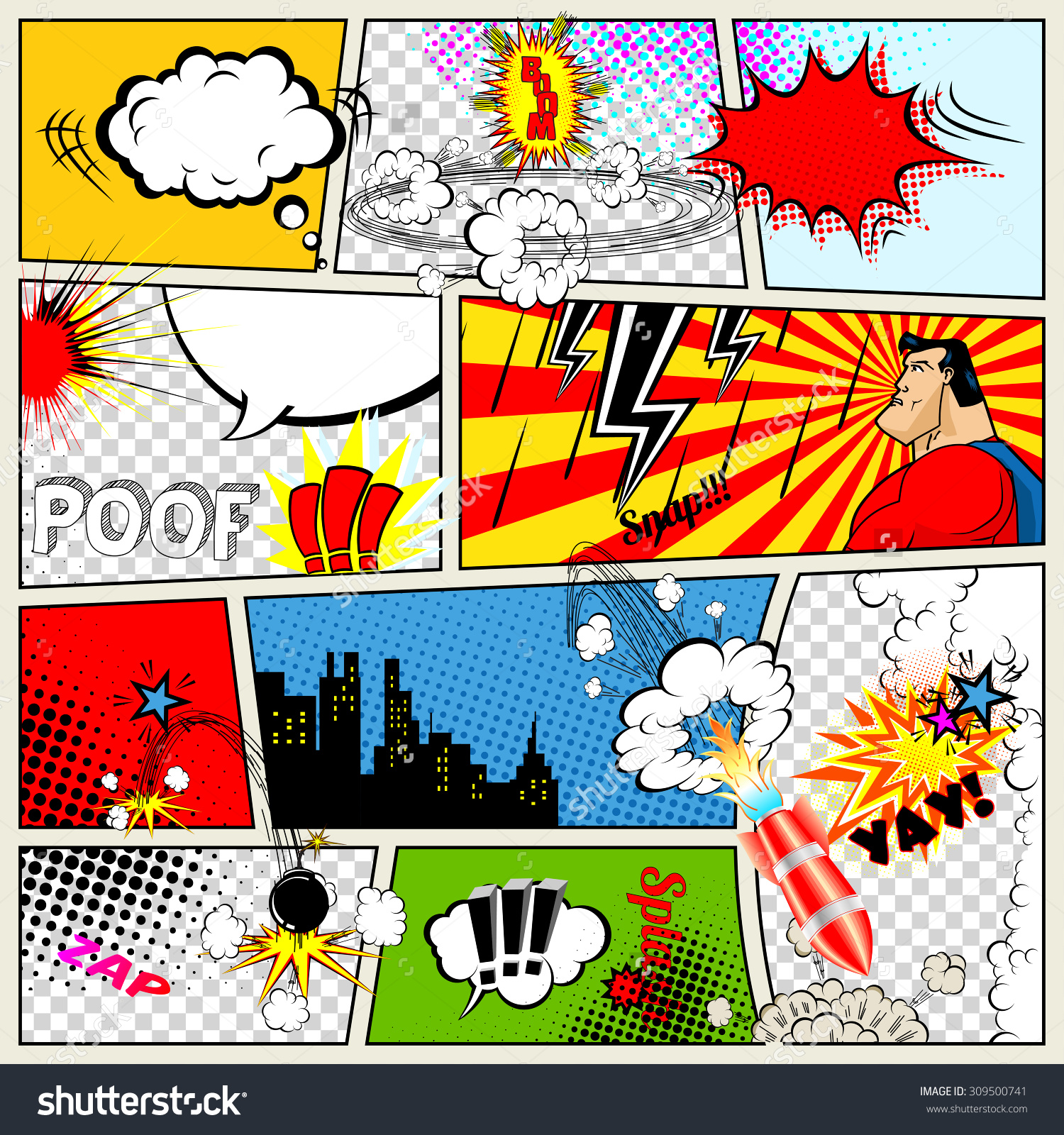 Nice Images Collection: Comic Desktop Wallpapers