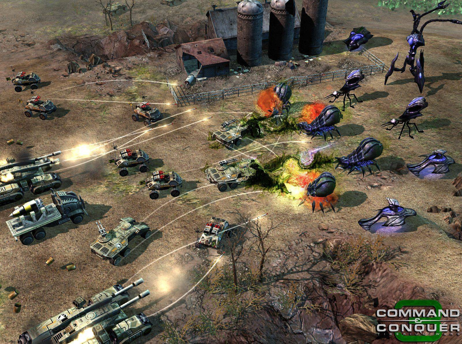 Nice Images Collection: Command & Conquer 3 Desktop Wallpapers