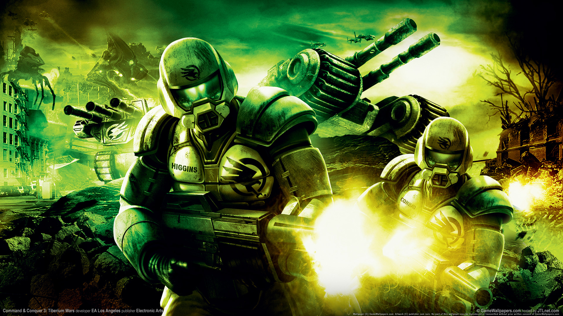 Nice Images Collection: Command & Conquer Desktop Wallpapers
