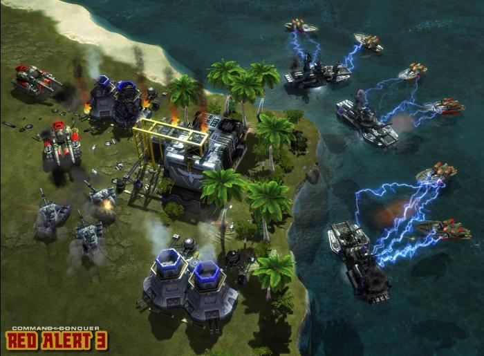 Command & Conquer: Red Alert 3 Backgrounds on Wallpapers Vista