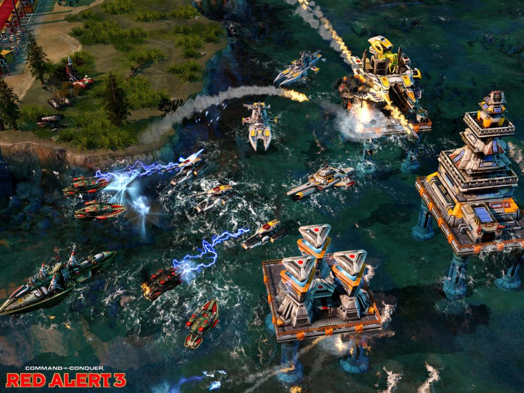 Command & Conquer: Red Alert 3 High Quality Background on Wallpapers Vista