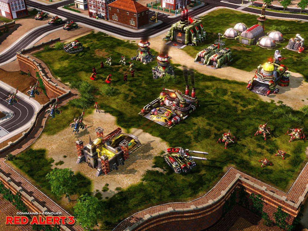Nice wallpapers Command & Conquer: Red Alert 3 1024x768px