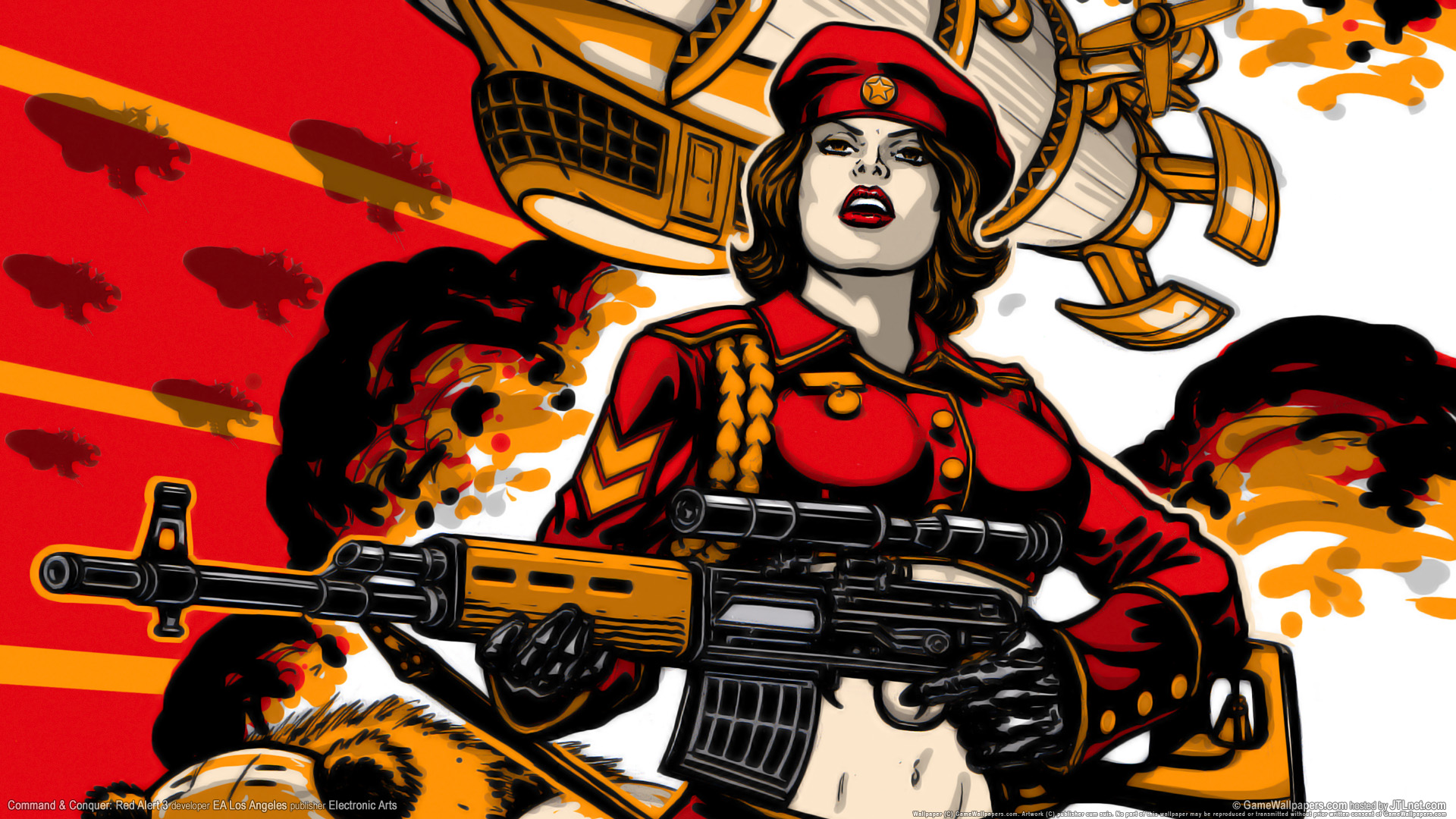 High Resolution Wallpaper | Command & Conquer: Red Alert 3 1920x1080 px