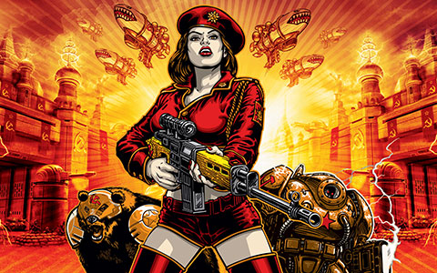 Nice Images Collection: Command & Conquer: Red Alert 3 Desktop Wallpapers