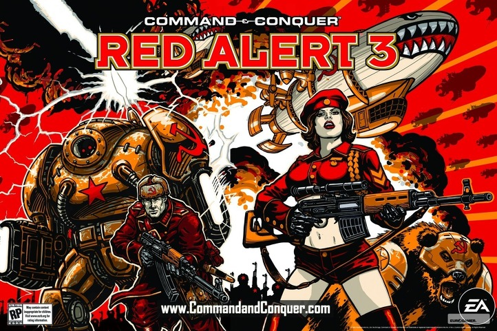 HQ Command & Conquer: Red Alert 3 Wallpapers | File 189.03Kb