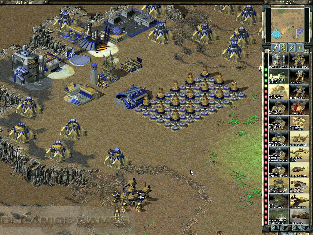 Command & Conquer: Tiberian Sun High Quality Background on Wallpapers Vista
