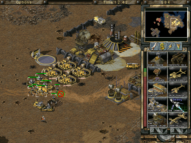 Nice wallpapers Command & Conquer: Tiberian Sun 640x480px