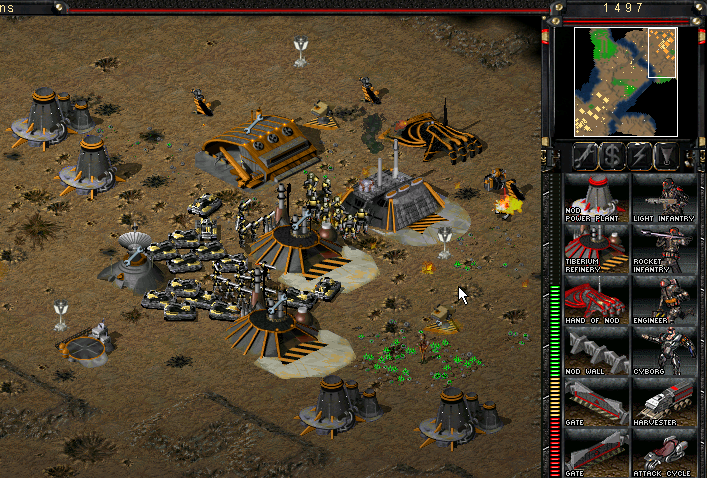 Images of Command & Conquer: Tiberian Sun | 707x478