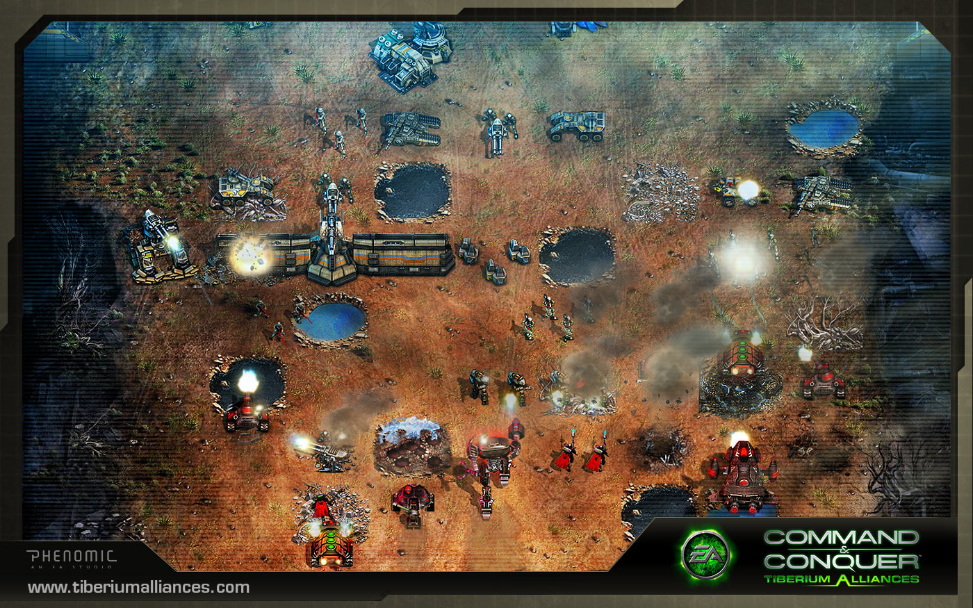 HQ Command & Conquer: Tiberium Alliances Wallpapers | File 485.97Kb