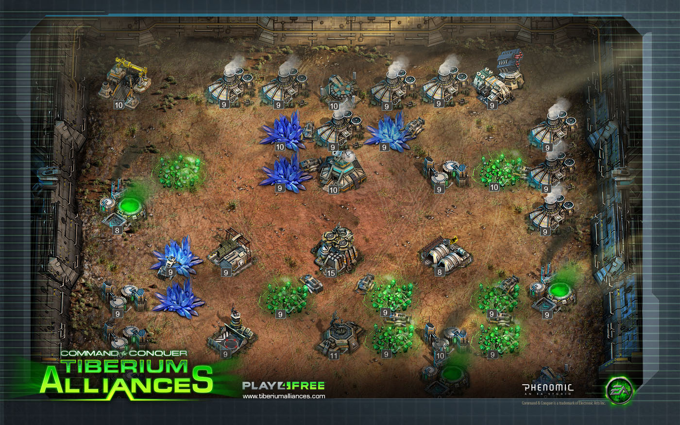 Command & Conquer: Tiberium Alliances High Quality Background on Wallpapers Vista