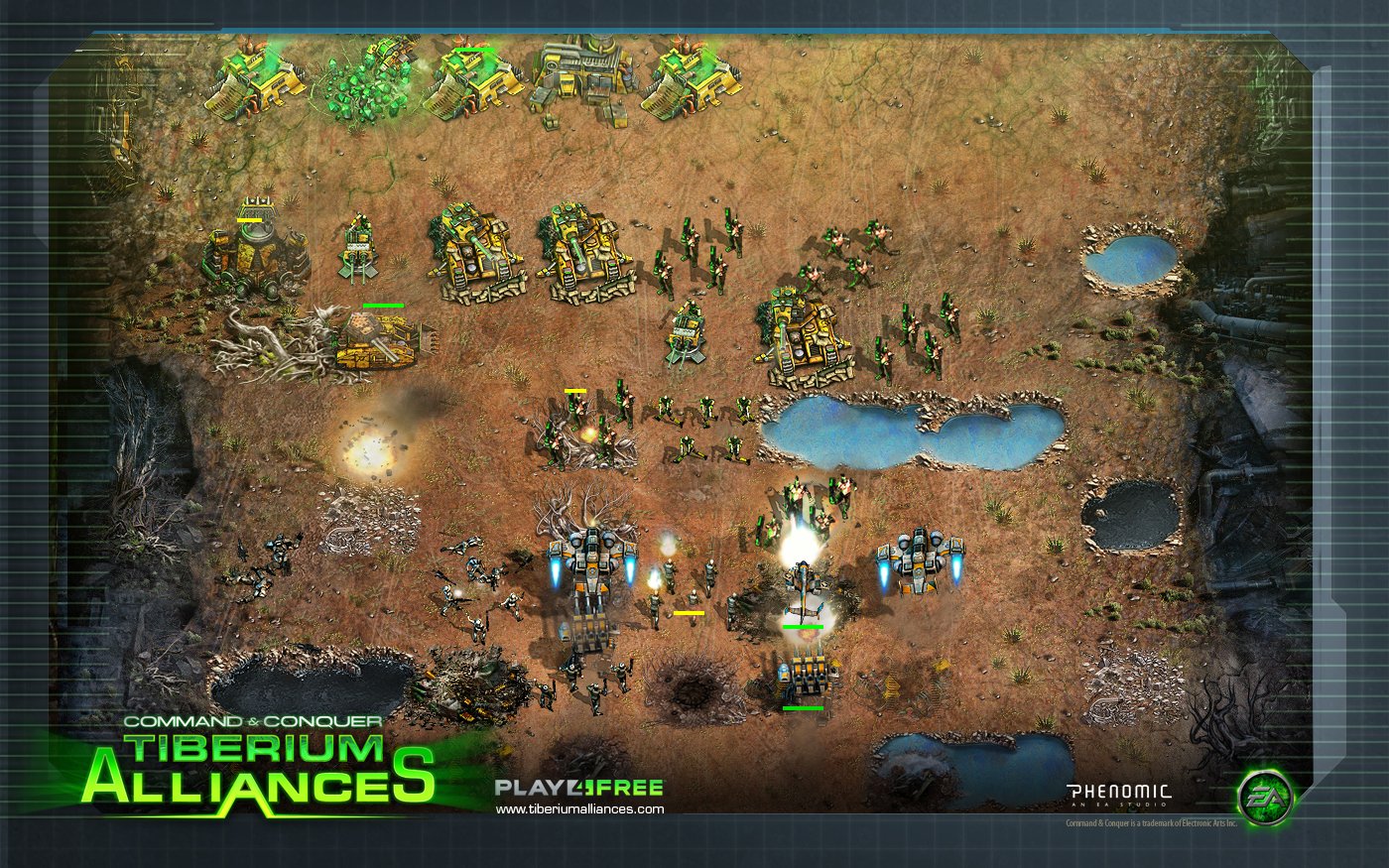 Command & Conquer: Tiberium Alliances Backgrounds, Compatible - PC, Mobile, Gadgets| 1400x875 px