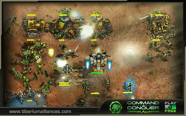 Command & Conquer: Tiberium Alliances Pics, Video Game Collection