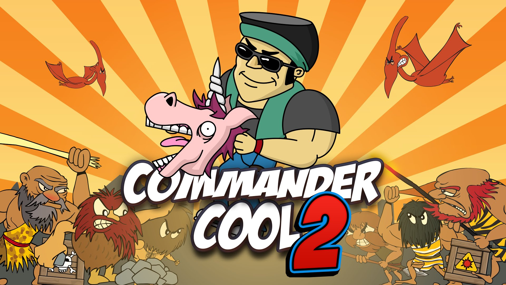 Nice Images Collection: Commander Cool 2 Desktop Wallpapers