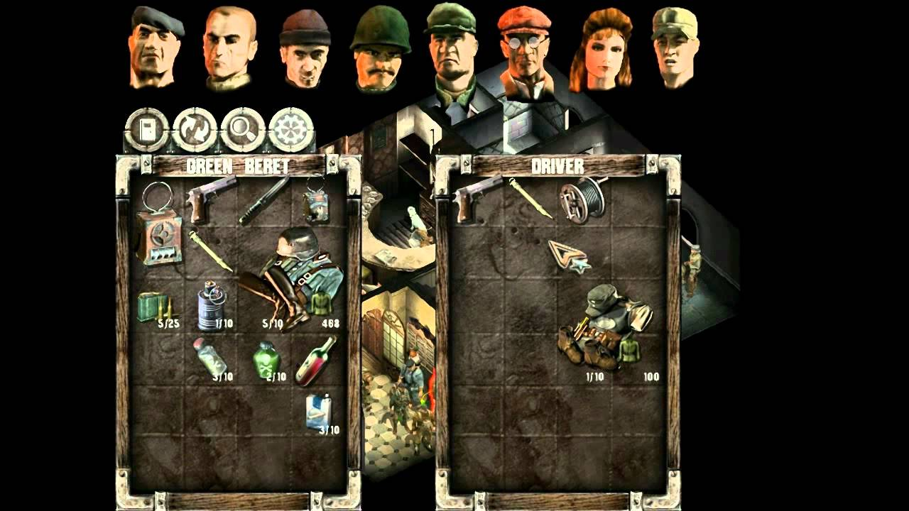 Nice Images Collection: Commandos 2: Men Of Courage Desktop Wallpapers
