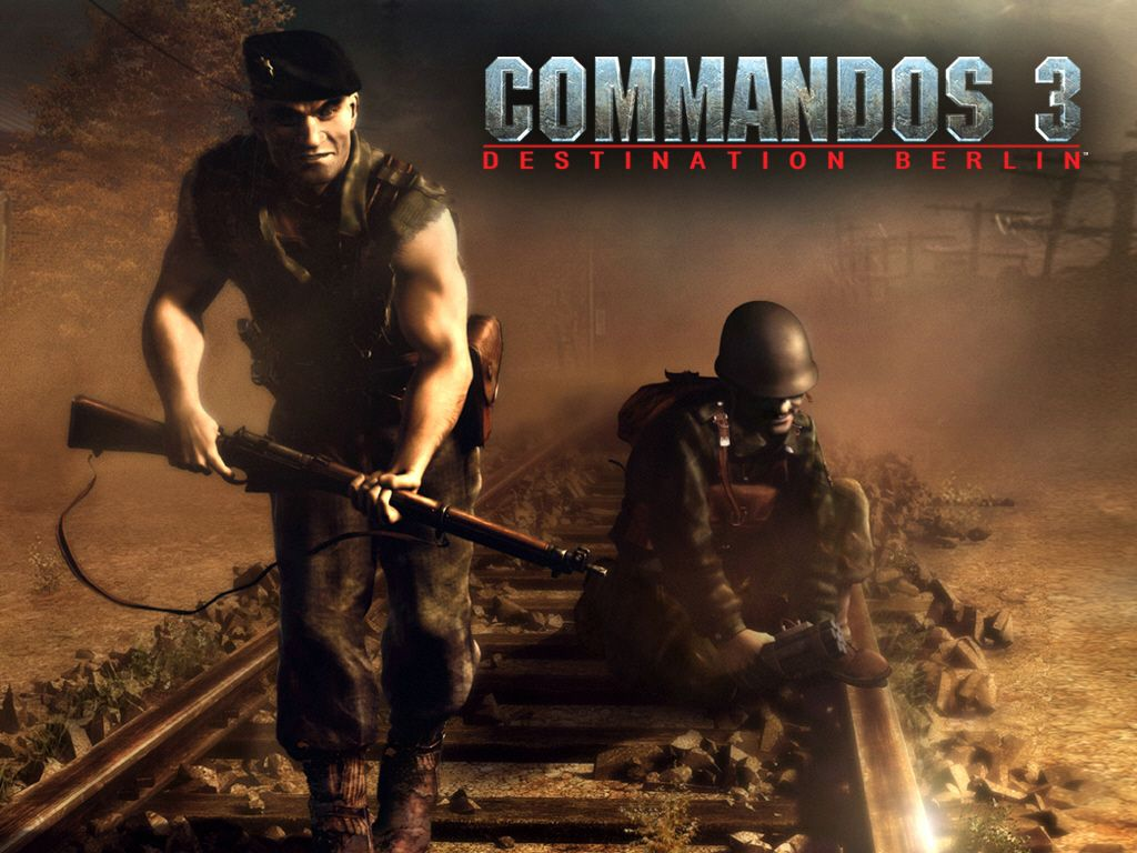 HD Quality Wallpaper | Collection: Video Game, 1024x768 Commandos 3: Destination Berlin