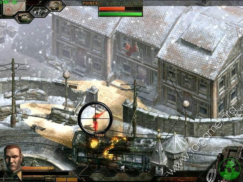 Commandos 3: Destination Berlin High Quality Background on Wallpapers Vista