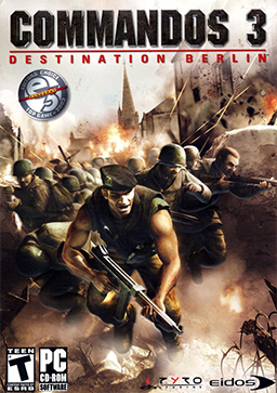 HD Quality Wallpaper | Collection: Video Game, 256x363 Commandos 3: Destination Berlin
