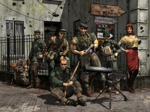 Commandos Backgrounds, Compatible - PC, Mobile, Gadgets| 500x375 px
