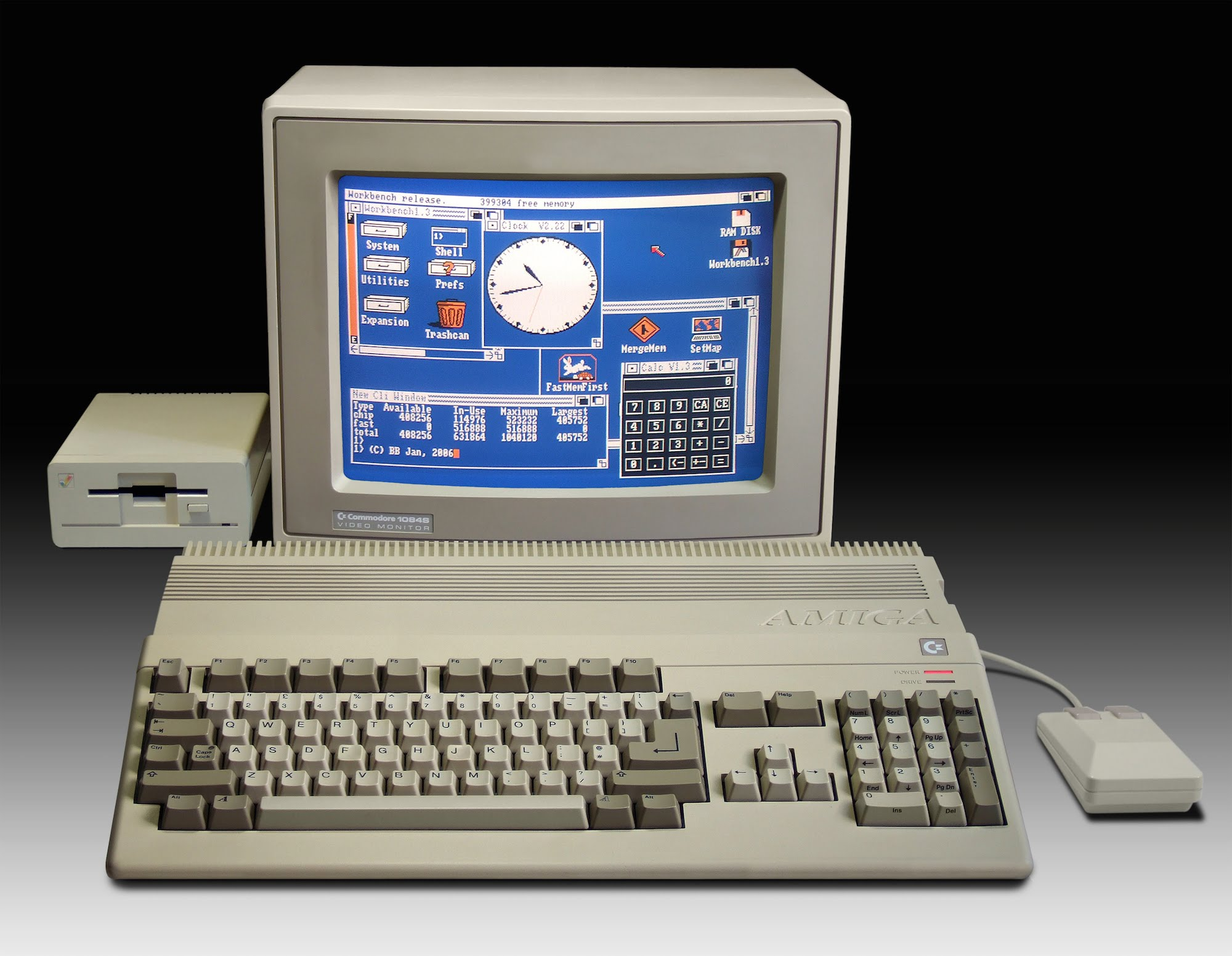 Nice wallpapers Commodore Amiga 2000x1553px