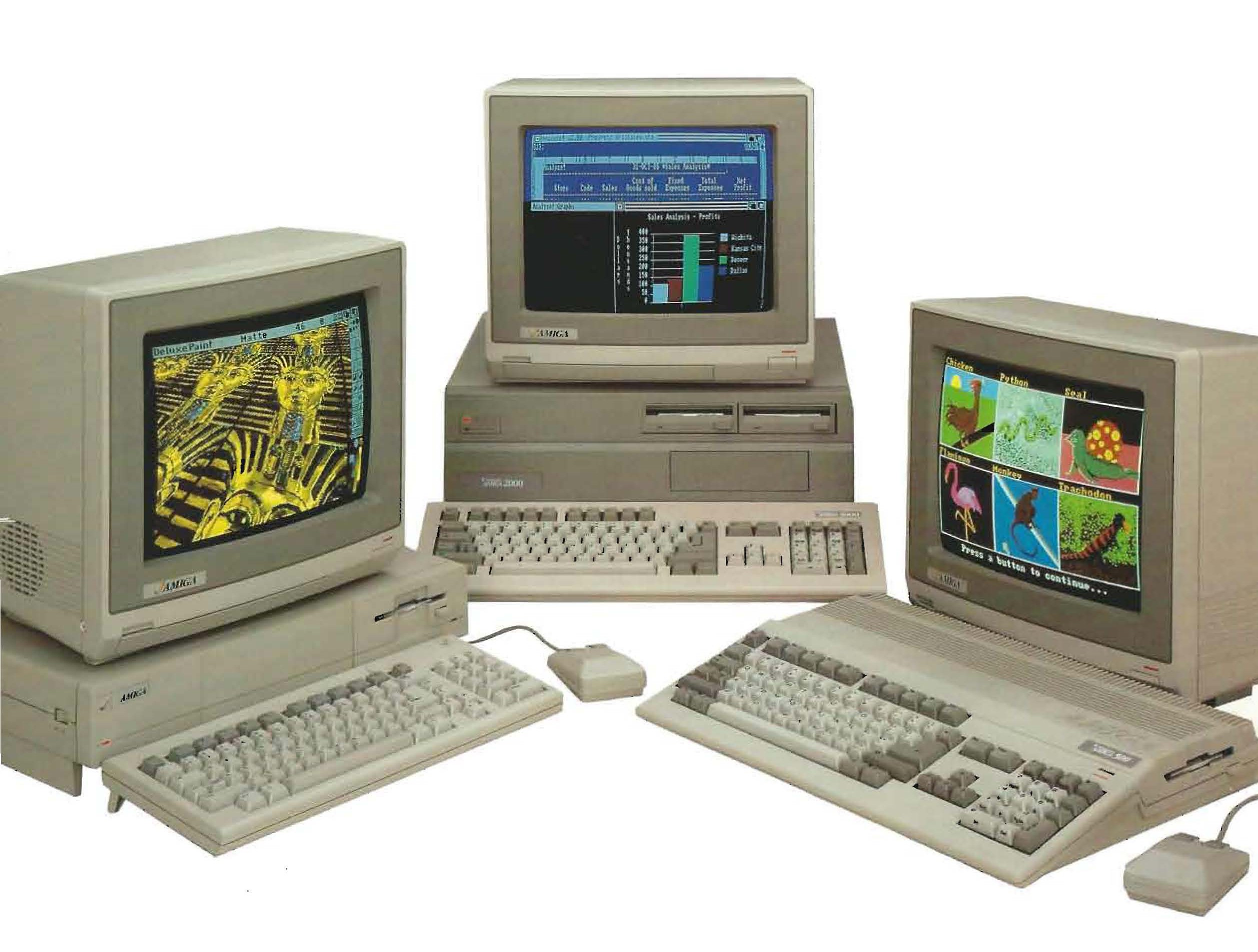 Nice wallpapers Commodore Amiga 2515x1904px