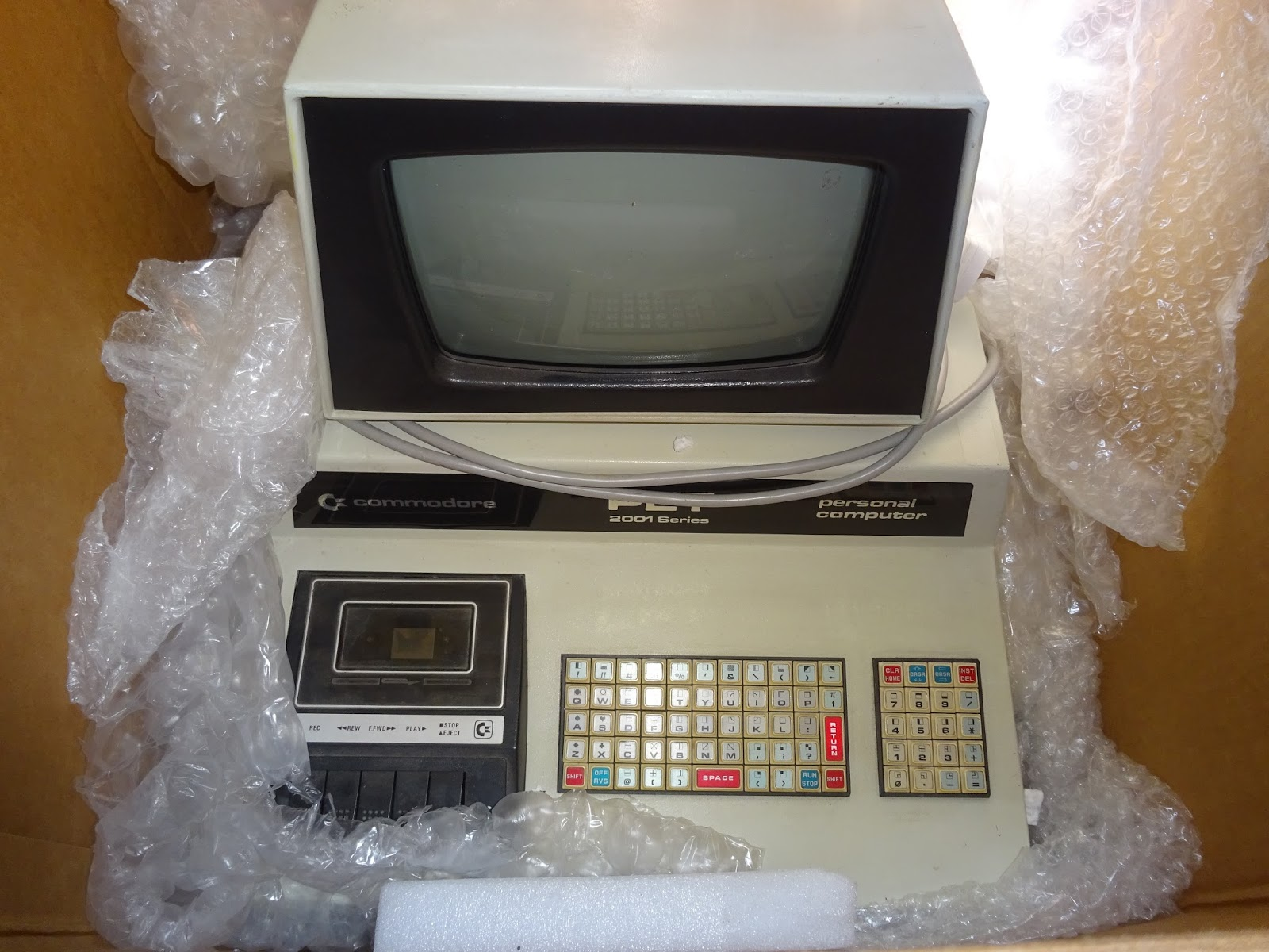 Commodore PET 2001 Pics, Technology Collection