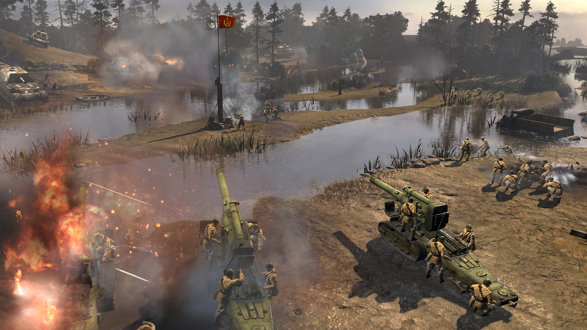 Company Of Heroes 2 Backgrounds, Compatible - PC, Mobile, Gadgets| 1920x1080 px