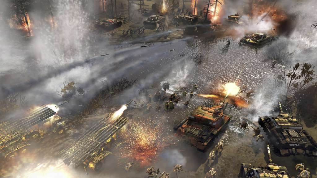 Nice Images Collection: Company Of Heroes 2 Desktop Wallpapers